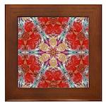 Attraction Art Mandala Framed Tile