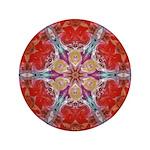 Attraction Art Mandala Button