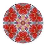 Attraction Art Mandala Round Car Magnet