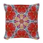 Attraction Art Mandala Woven Throw Pillow
