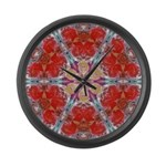 Attraction Art Mandala Large Wall Clock