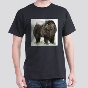 black chow portrai T-Shirt