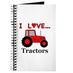 I Love Red Tractors Journal
