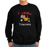 I Love Tractors Sweatshirt (dark)