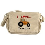 I Love Tractors Messenger Bag