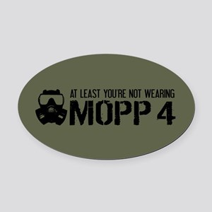 U.S. Military: At Least You're Not In MOPP 4 Oval