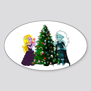 Christmas in Hades Sticker
