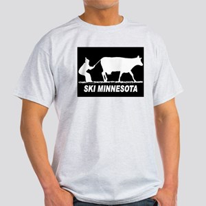 SKI MINNESOTA BLACK T-Shirt