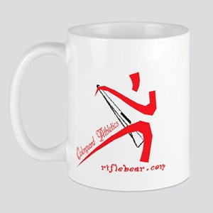 Colorguard Athletics Rifle Mug