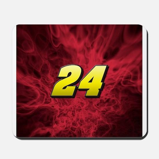 Red/24 Jeff Gordon Mousepad