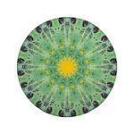 Miracle Art Mandala Button