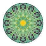 Miracle Art Mandala Round Car Magnet