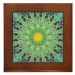 Miracle Art Mandala Framed Tile