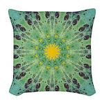 Miracle Art Mandala Woven Throw Pillow