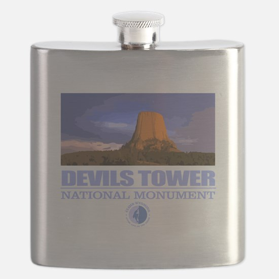 Devils Tower Flask