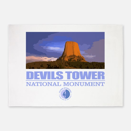 Devils Tower 5'x7'Area Rug