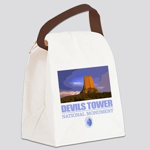 Devils Tower Canvas Lunch Bag
