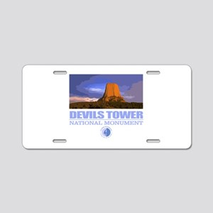 Devils Tower Aluminum License Plate