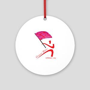 Colorguard Athletics Flag Ornament (Round)