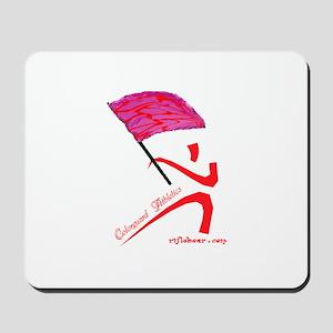 Colorguard Athletics Flag Mousepad