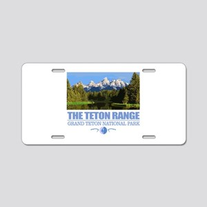 Grand Teton National Park Aluminum License Plate