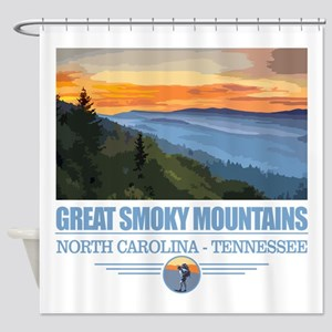 Great Smoky Mountains Shower Curtain