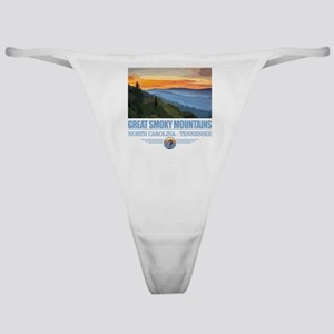 Great Smoky Mountains Classic Thong