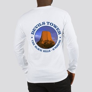 Devils Tower (Rd) Long Sleeve T-Shirt