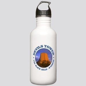 Devils Tower (rd) Water Bottle
