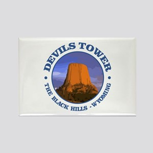 Devils Tower (rd) Magnets