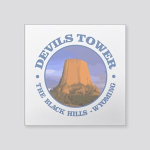 Devils Tower (rd) Sticker
