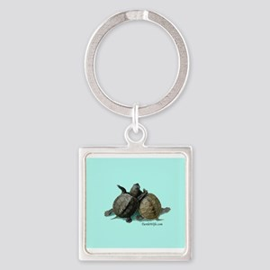 Terrapin Friends Square Keychain