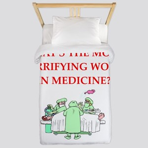Doctor joke Twin Duvet