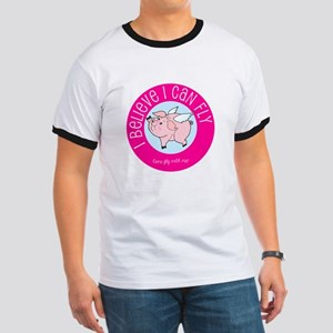 Believe Flying Pig T-Shirt