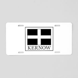 Kernow Aluminum License Plate