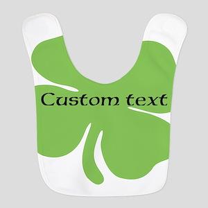Custom St. Patrick's four leaf clover Polyester Ba