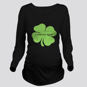 Custom St. Patrick's four leaf clover T-Shirt