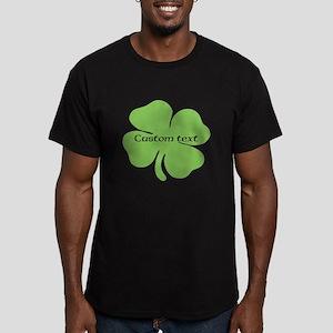 Custom St. Patrick's four leaf clover T-Shirt