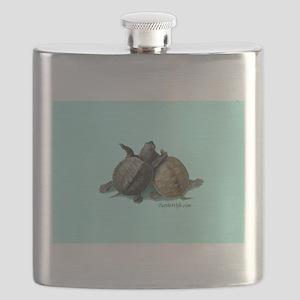 Terrapin Friends Flask