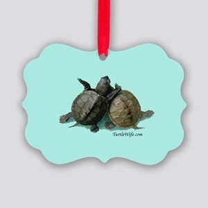 Terrapin Friends Picture Ornament