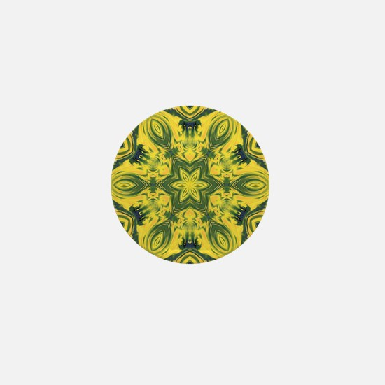 Star Art Mandala Mini Button