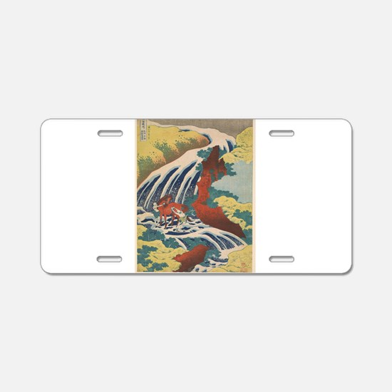 Vintage poster - Yoshitsune Aluminum License Plate