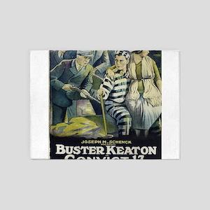 Vintage poster - Convict 13 5'x7'Area Rug