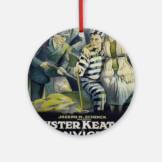 Vintage poster - Convict 13 Round Ornament