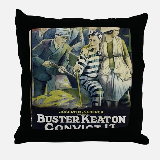 Vintage poster - Convict 13 Throw Pillow