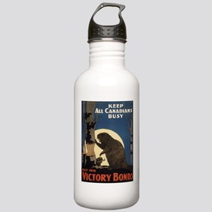 Vintage poster - Victo Stainless Water Bottle 1.0L