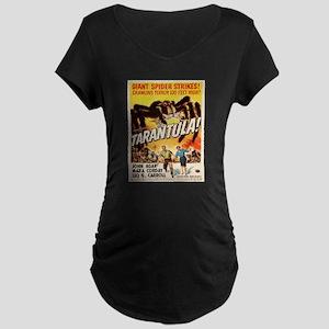 Vintage poster - Tarantula Maternity T-Shirt