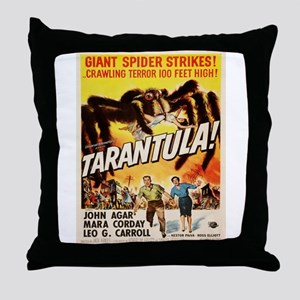 Vintage poster - Tarantula Throw Pillow