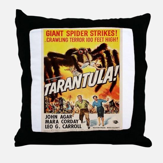 Vintage poster - Tarantula Throw Pillow