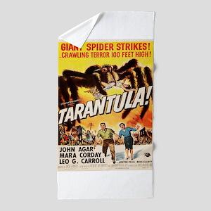 Vintage poster - Tarantula Beach Towel